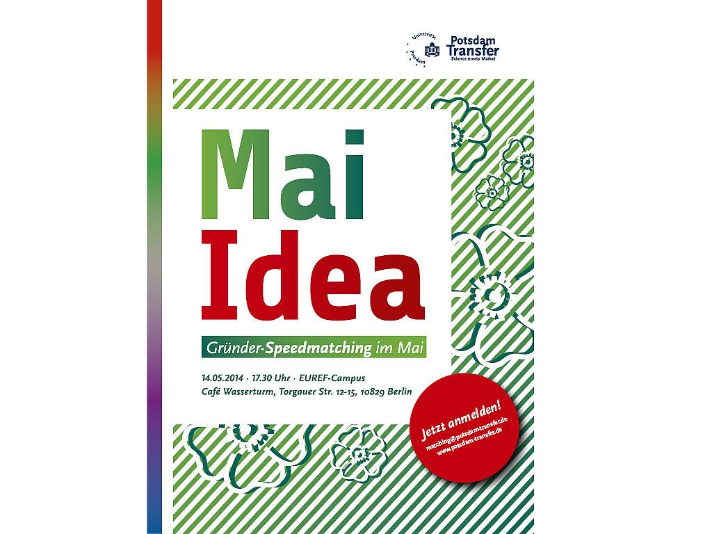 Mai Idea – Gründer Speedmatiching